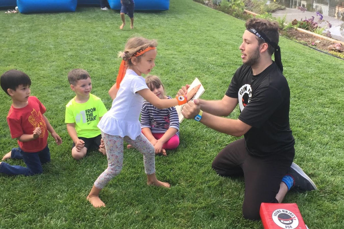 Get Everybody Kung Fu Fighting with Young Ninjas USA